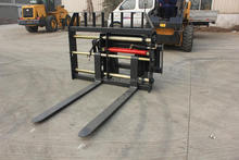 skid steer loader attachment hydraulic pallet fork for sale