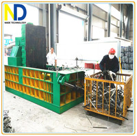 Hydraulic scrap metal compactor machine