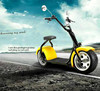 City COCO Hidden battery electric scooter electric motorcycle for kids