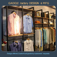 alibaba hot sale latest wooden retail clothing garment shop interior design