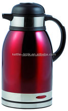 keeping warm low price 360 rotation cordless stainless stee red electric kettle