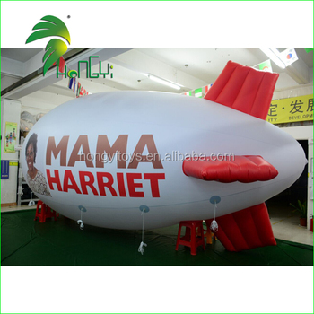 PVC Inflatable Helium Airship For Advertising