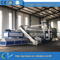 2014 Hot sale low price Continuous waste plastic pyrolysis machine