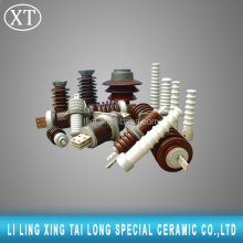 High volatage cap and pin type suspension porcelain insulator