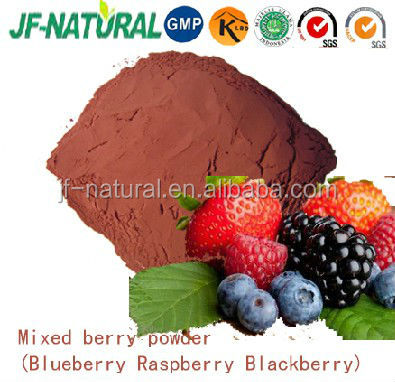 100% natural mixed berry extract powder
