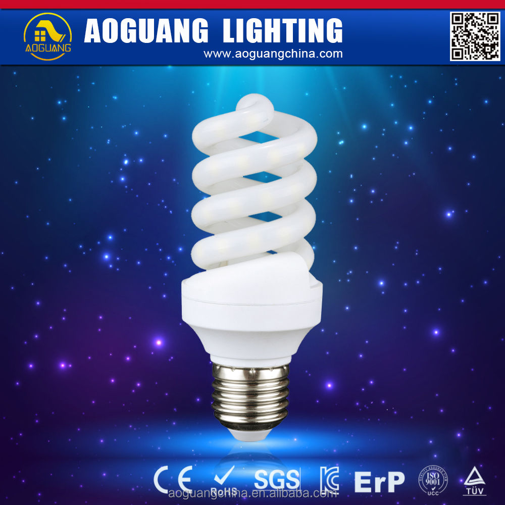 led spiral lamp of energy saving lamp with CE ROHS 18w 20W
