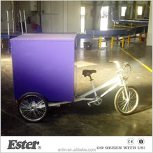 ESTER 500W rear motor Electric 3 wheel cargo bike tricycle