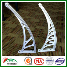 HUAXIA NATURE polycarbonate canopy bracket awning bracket door bracket