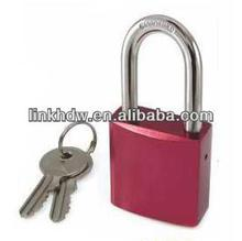 38mm Aluminium Padlock, Replaceable Cylinder