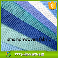 sms nonwoven baby cloth diapers/manufacture diapers smms non-wovens fabric/hydrophibic sms non wovens