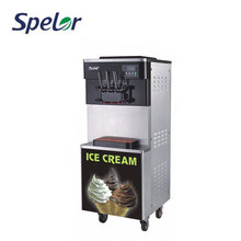 Refrigeration System Design Commercial Soft Serve Ice Cream Machine