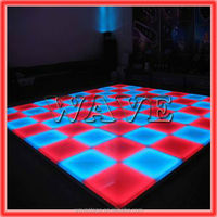 WLK-1-1 640 pcs RGB leds dance acrylic led floor