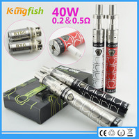 New big vapor ecig 40w battery korean cigarette with factory price