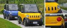 2 Person 2 seater New Mini Small Chinese Electrical Cars (EEC l7e)
