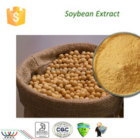 Anti-cardiovascular diseases Kosher HACCP FDA cGMP certified min 40% pure isoflavone organic soybean extract