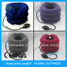 Beauty and Health 2014 New Promotion Inflatable Neck Care Device Cervical Collar Traction