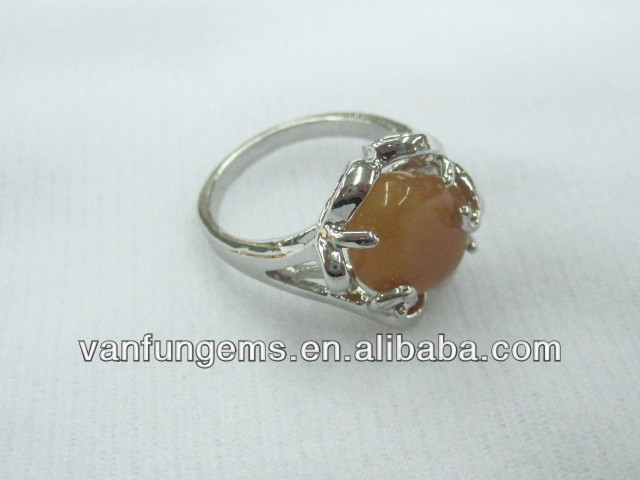 2013 new product semi gemstone chaming ring
