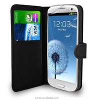 Leather Wallet Case Cover For Samsung Galaxy S3 Neo I9300