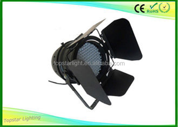 177pcs/181pcs/183pcs 10mm Led Par Can Light White Color Led Par64 With Light Blocking Leaves