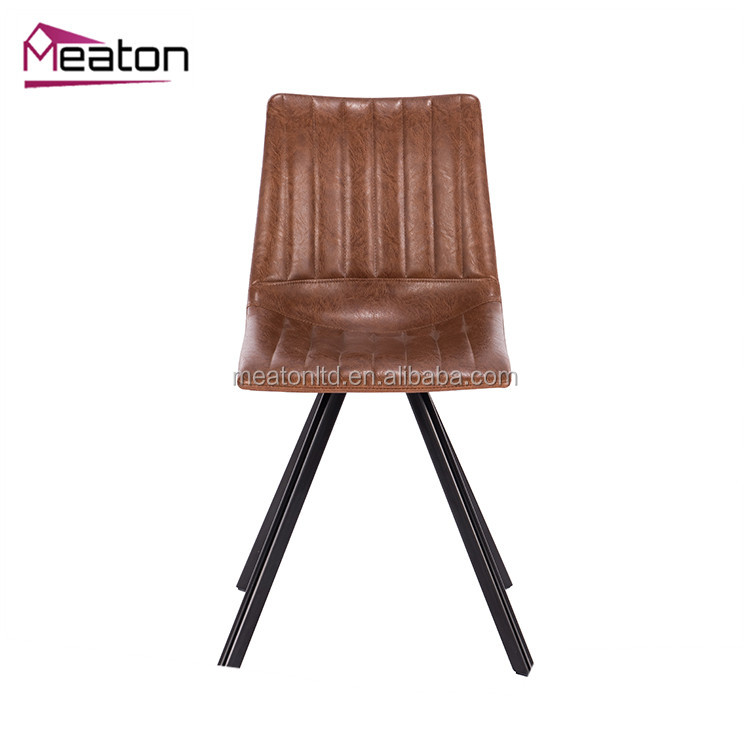 Modern kitchen designs PU dining chair