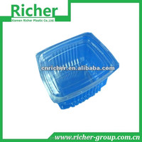 BOPS clear/transparent plastic food tray/container/box for cake/bread/sushi/sandwich packing