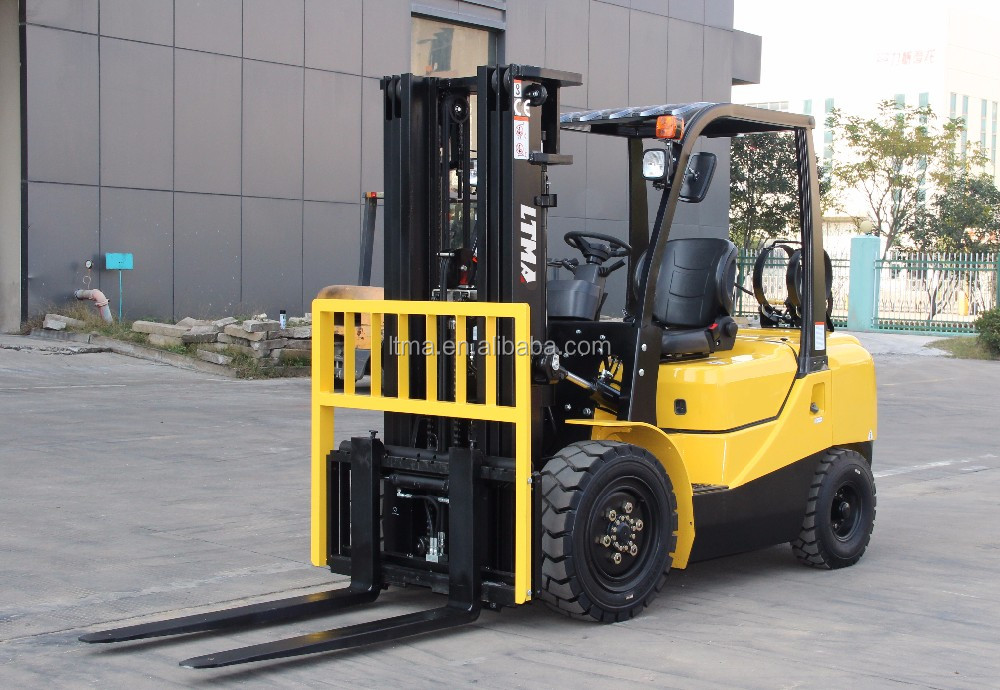 LTMA EPA approved 1.5 ton 2.5 ton 3.5 ton lpg gasoline forklift with Nissan engine