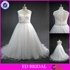 LN176 2016 New fashion lace appliqued cap sleeve real sample plus size western style wedding dresses