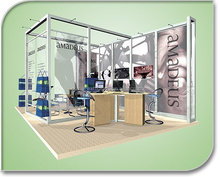 2013 New Product modular exhibition display stand