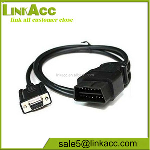 LKCL170 OBD2 DB9 Car fault diagnosis instrument cable