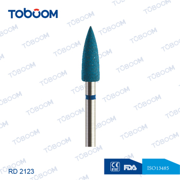 Special for zirconia/porcelain workpiece rubber diamond polisher