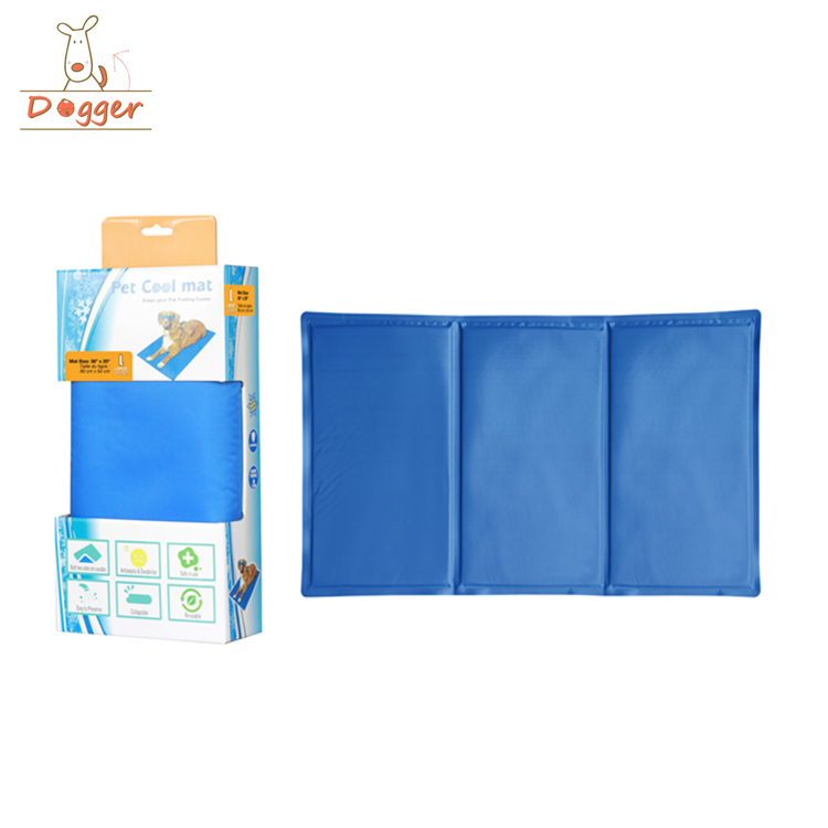 Self Cooling Pet Pad Chilly Comfort Gel Pet Mat Double PVC Leak-proof Cooling Ice Pad