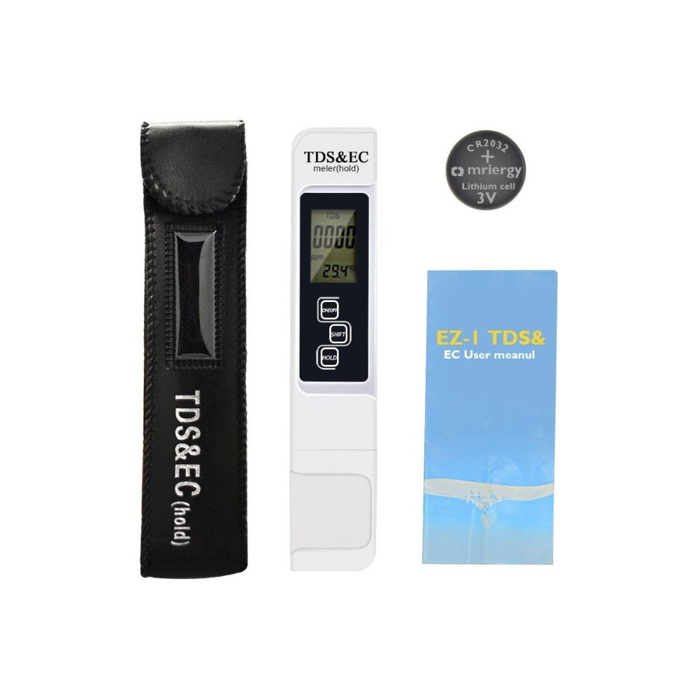 high quality of TDS&EC meter white color