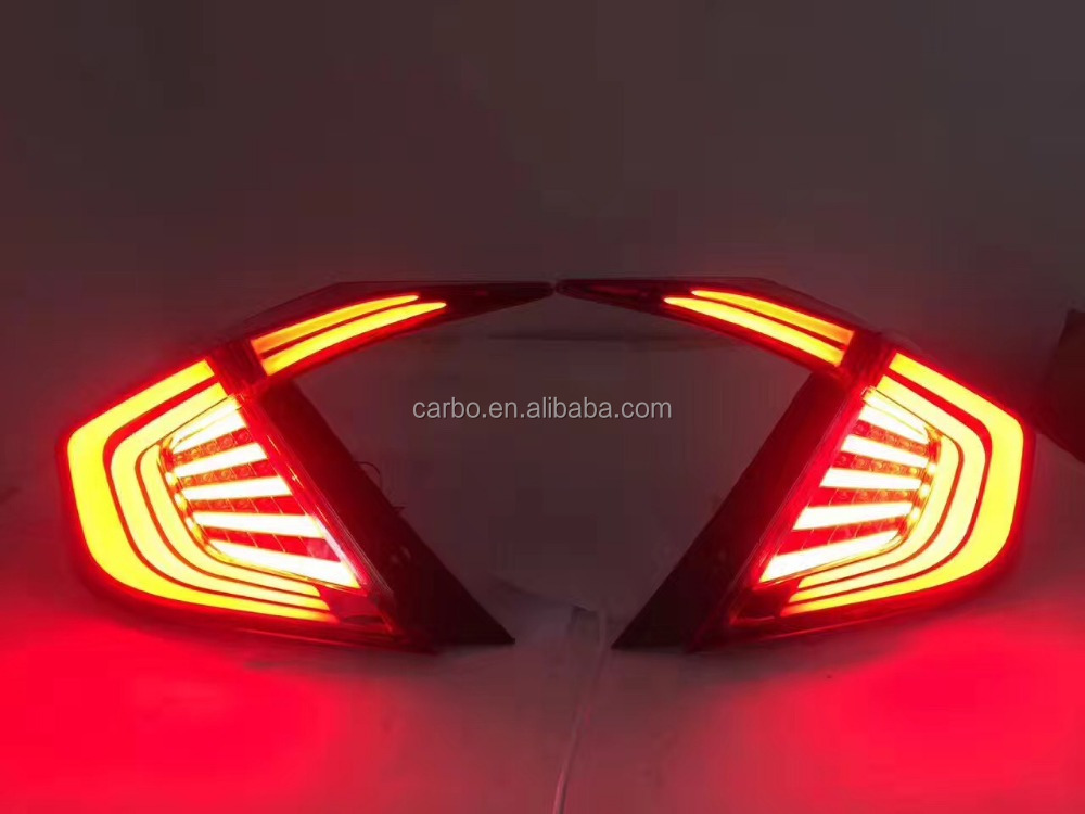 New arrivle LED taillights for Honda Civic 2016 factory wholesale tail light
