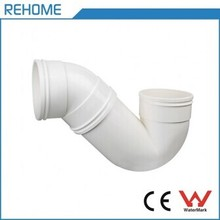 Rehome PVC P Type Gully Trap With Door For Sewerage Drainage