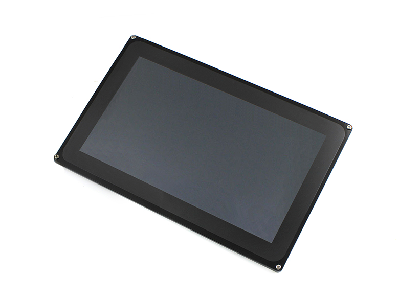 10.1 inch 1024*600 Multicolor Graphic LCD, with capacitive touch screen and stand-alone touch controller