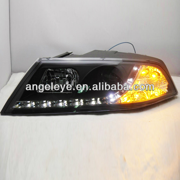 2007-2010 Year Skoda Octavia LED Angel Eyes Headlight with Projector Lens SN