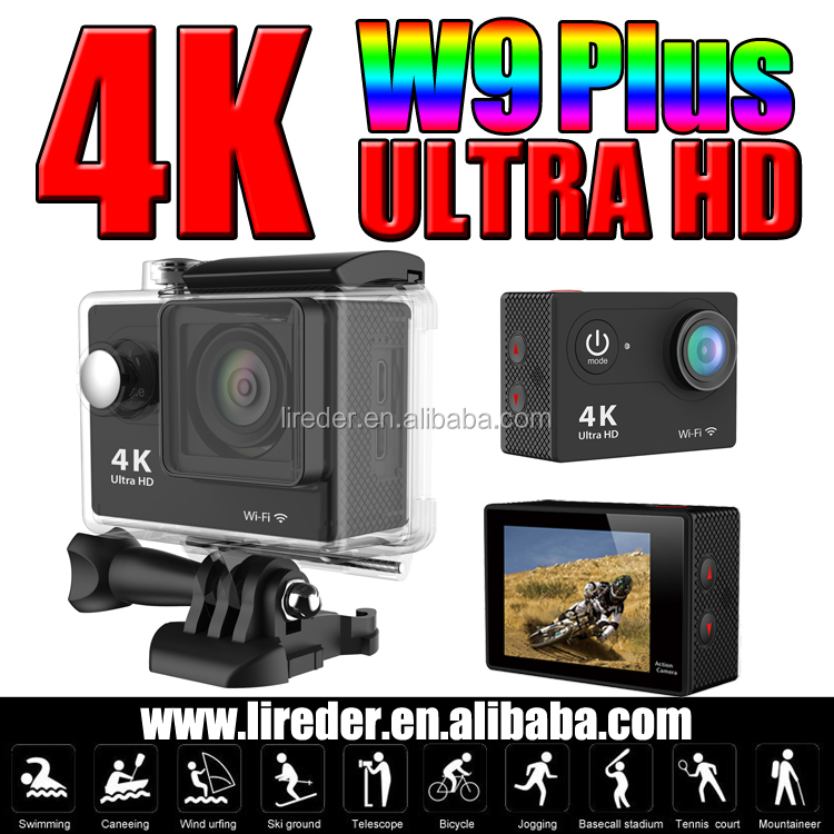 New Sport Waterproof 4k Camera 12 MP HD 1080P CMOS Helmet Action Camera 170 Wide Lens Outdoor Sports Camcorder 30M Action Cam