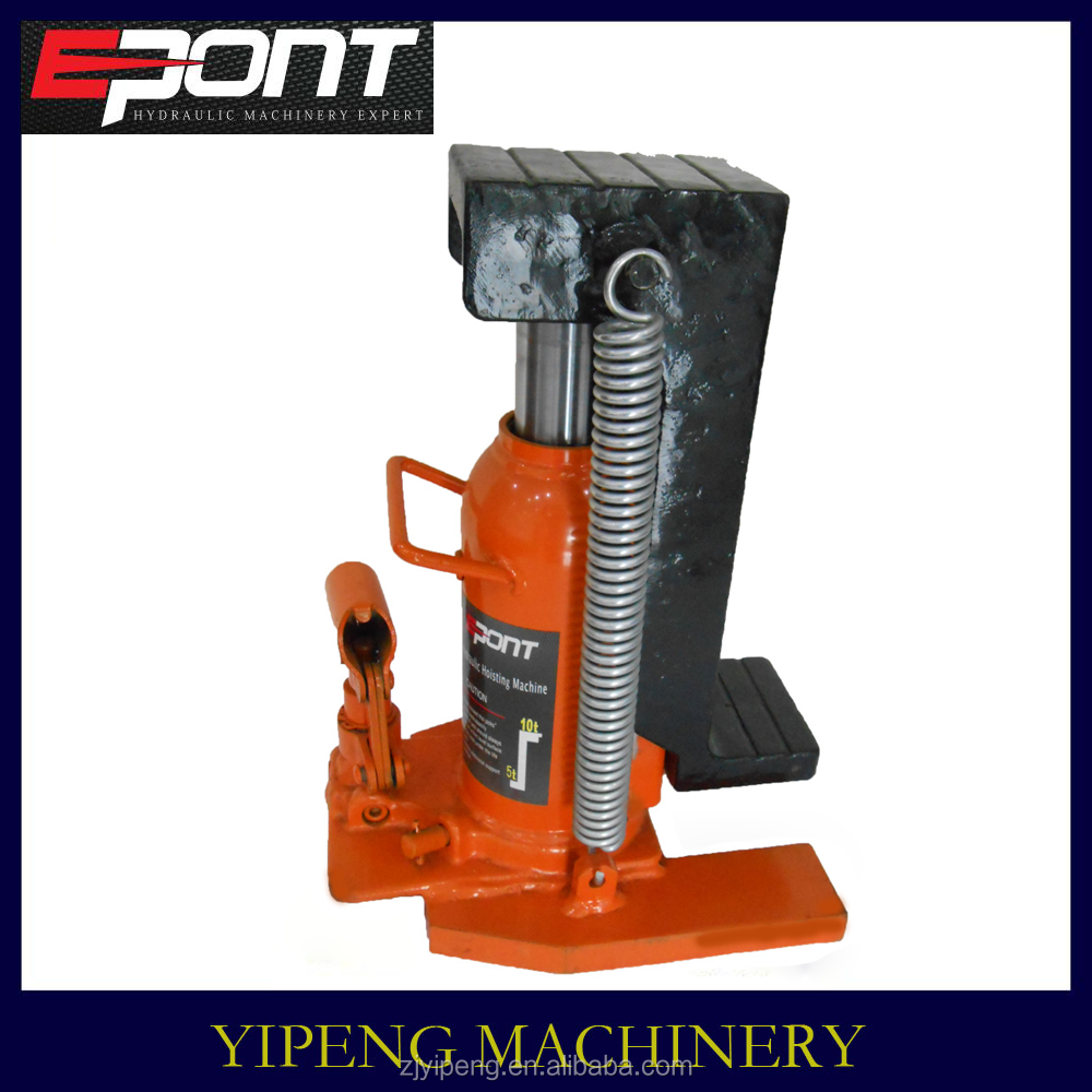 2015 New Arrival Famous Brand 10 Ton Hydraulic Toe Jack from Yipeng machinery