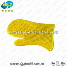 silicone oven mitt,silicone heat resistant gloves,high temperature silicone rubber with fingers