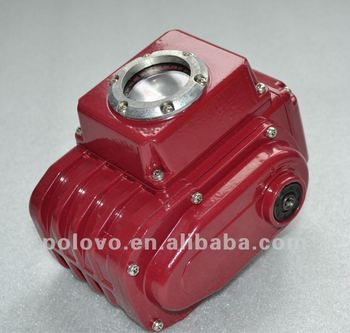 Electric actuators rotary