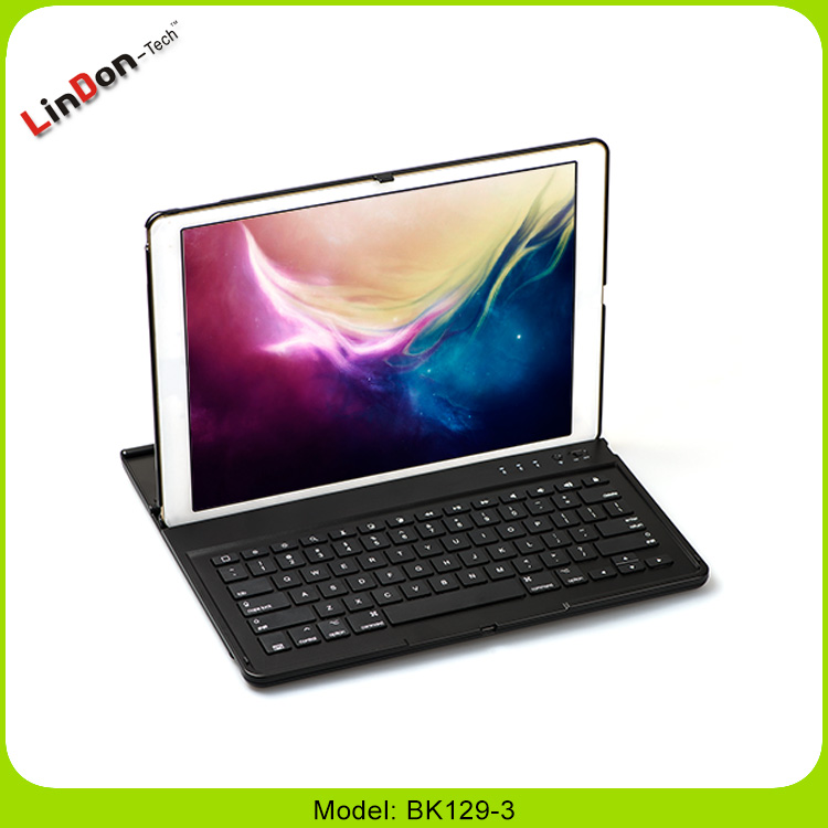 High Quality 360 Degree Rotate Wireless Bluetooth Keyboard Case For iPad Pro 12.9 Inch Tablet PC