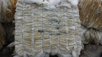 100% LDPE clear/natural scrap film bales (supersacks)