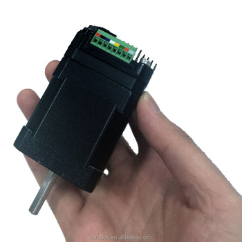 Integrated nema 17 stepper motor with drive and encode for Integrated servo motor and drive