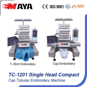 tubular embroidery machine