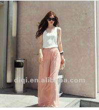 OEM,Hot sale 100%chiffon short pants,women panty.pantskirt,culottes