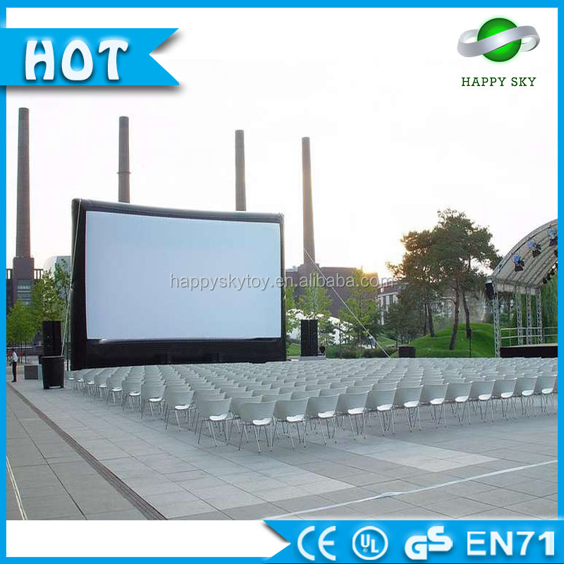 Commercial NEW Open Air Cinema Inflatable movie screen Home Theater Projection Screen