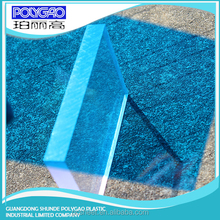 Lexan pc solid sheet Roof Material polycarbonate excellent light transmitting sunshine hut