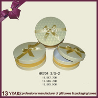 Wholesale round paper box packaging for gift