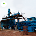 Integrated design waste engine oil pyrolysis oil distillation machine