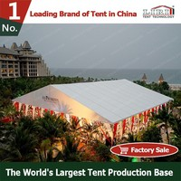 Permanent clear span aluminum giant tent for sale